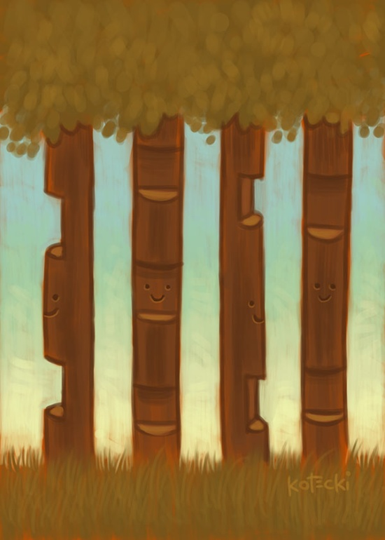lincoln-log-forest2